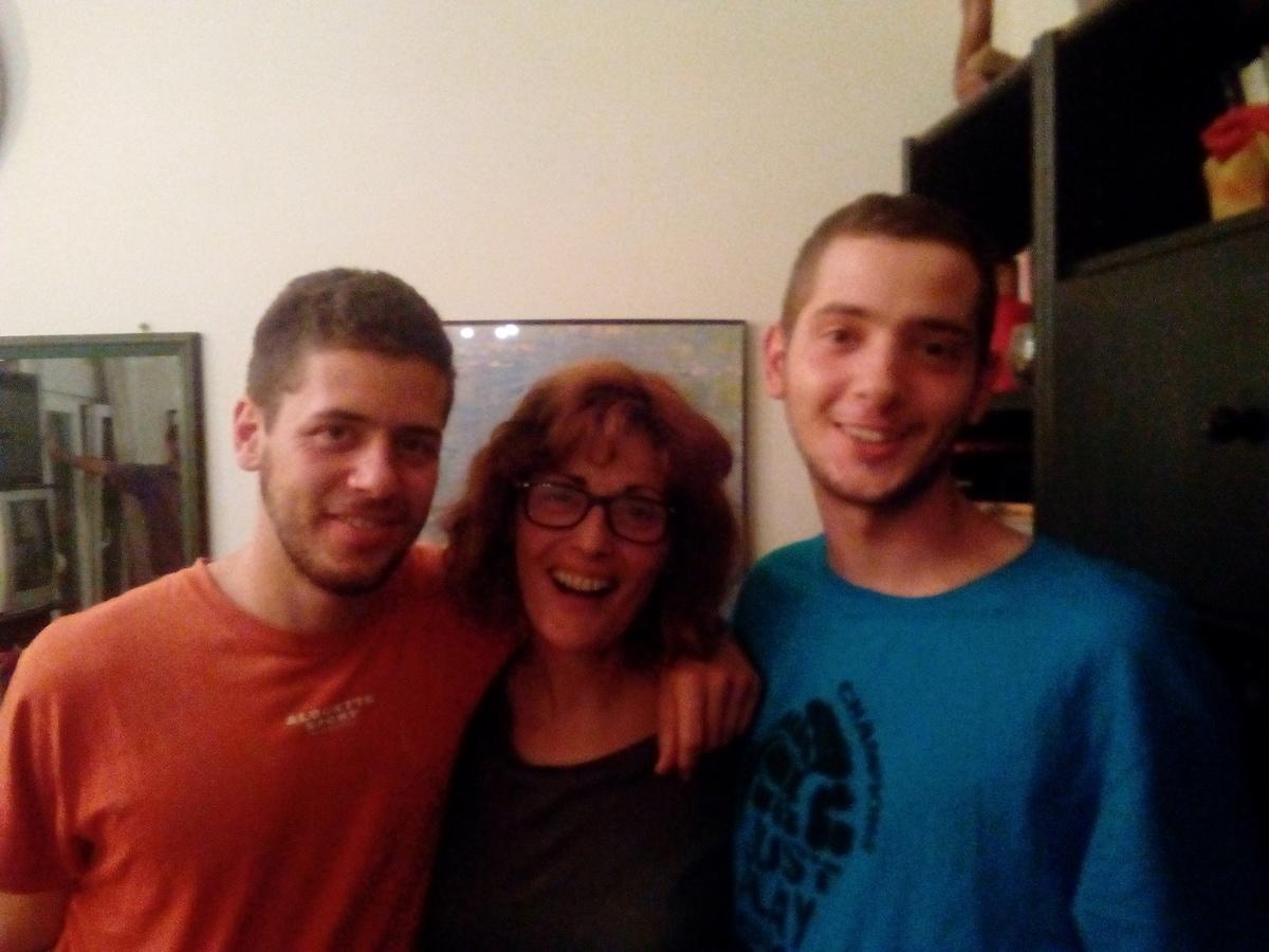 Sandy'S Family From Agios Pavlos, Greece
