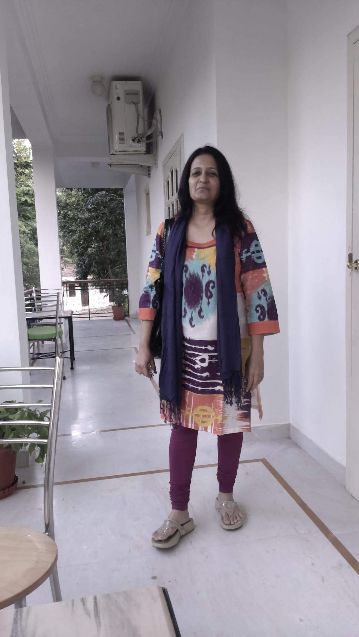 Anita from Ahmedabad
