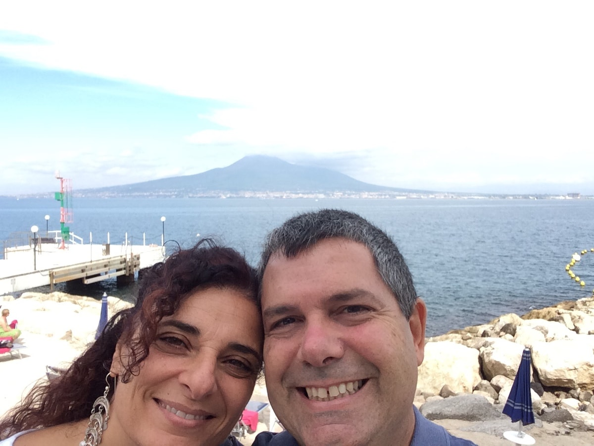 Claudia E Paolo From Piazza, Italy