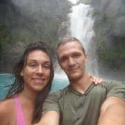 My fiance and I love to travel and have relied on