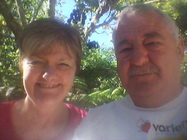 Anne And Barry From Ruatangata West, New Zealand