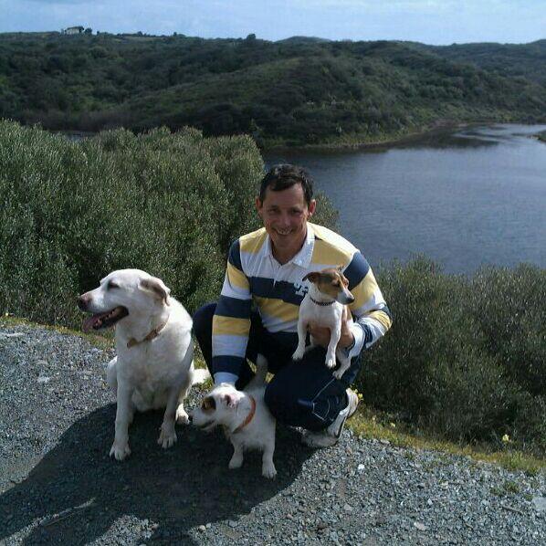 Soy de Menorca. Me encanta caminar los fines de se