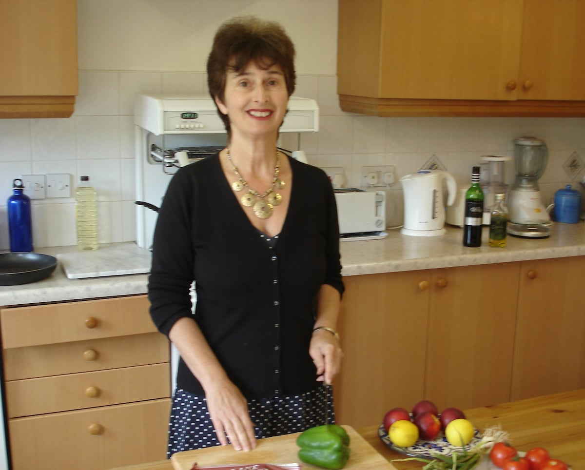 Sharon Watson. I'm a keen cook and love preparing