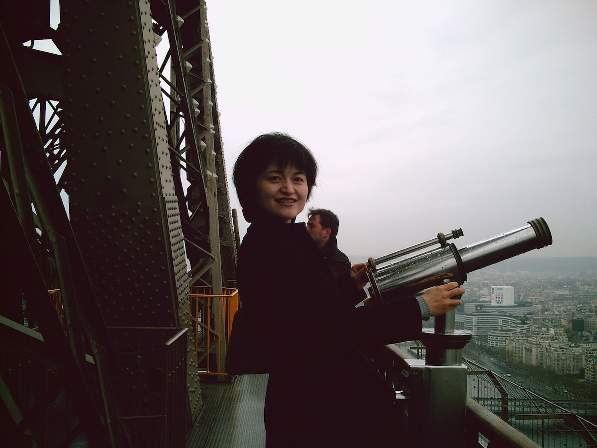 I am from Tianjin China. A business woman and love