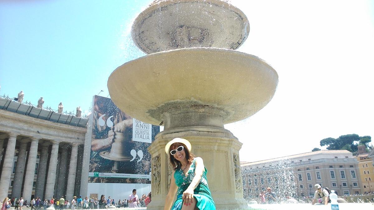 Hola , soy Roxana , vivo con mi marido en Barcelon