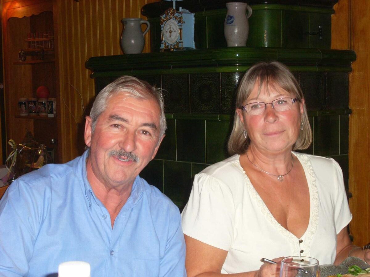 Bernadette Et Francis From Thénac, France