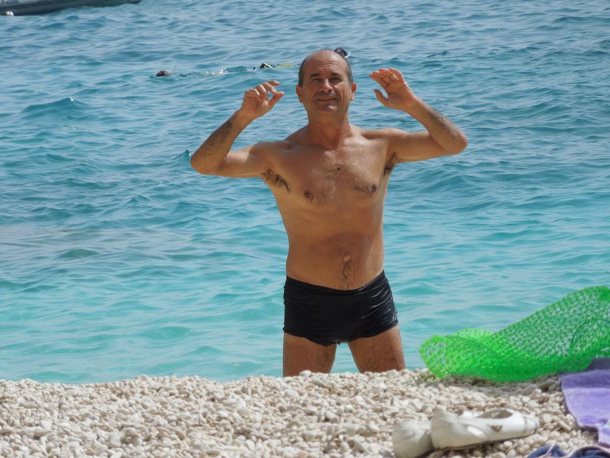 Antonio From Baunei, Italy