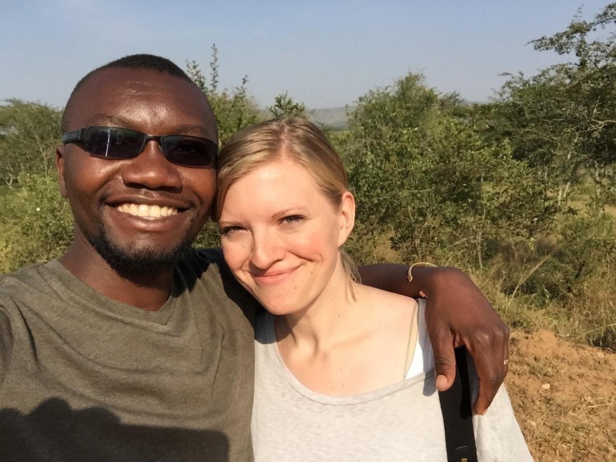 Elizabeth & Andrew from Kampala