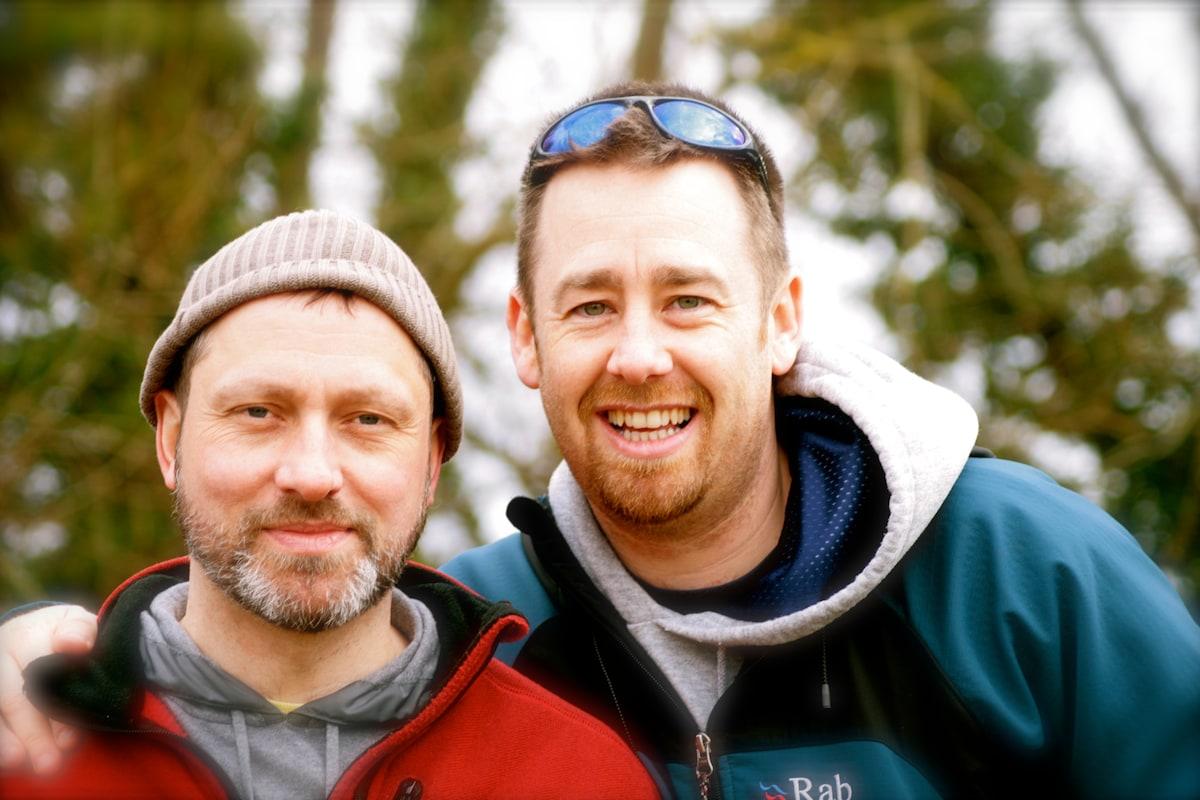 Jim + Stuart