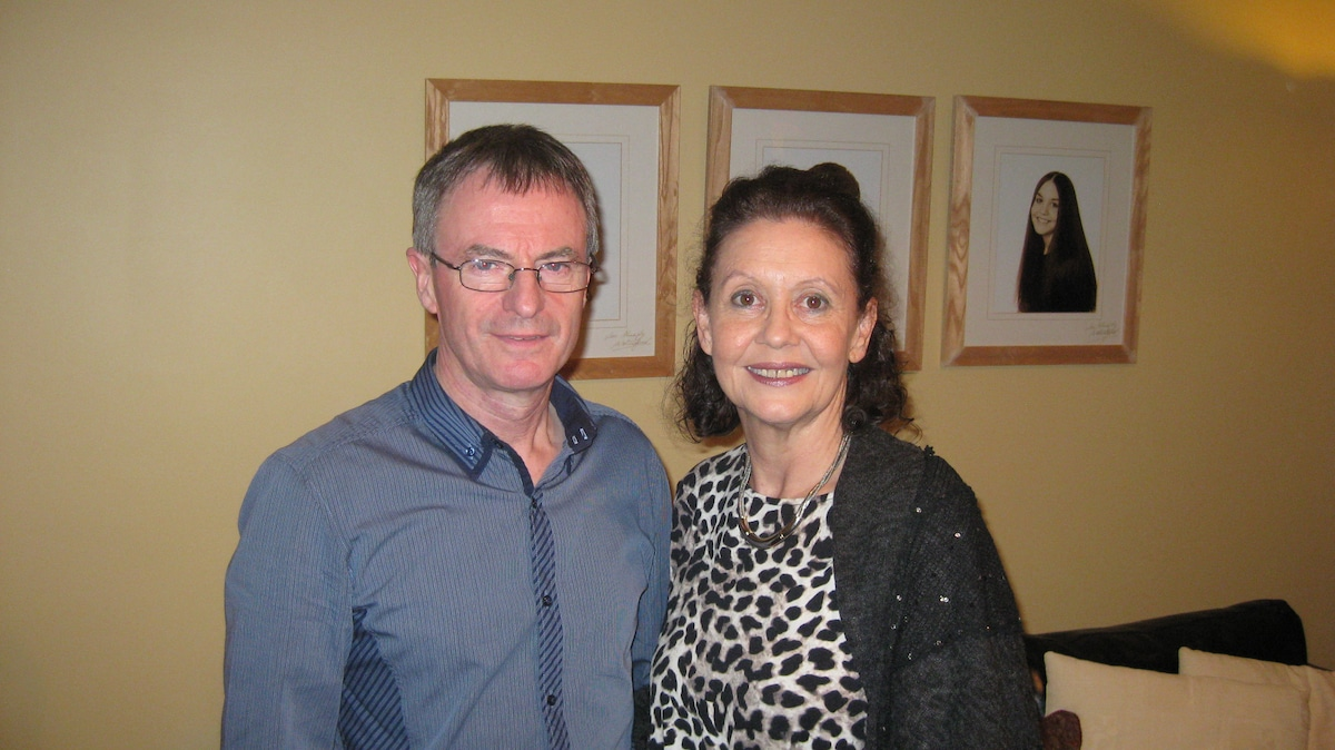 Anne & Maurice From Tramore, Ireland