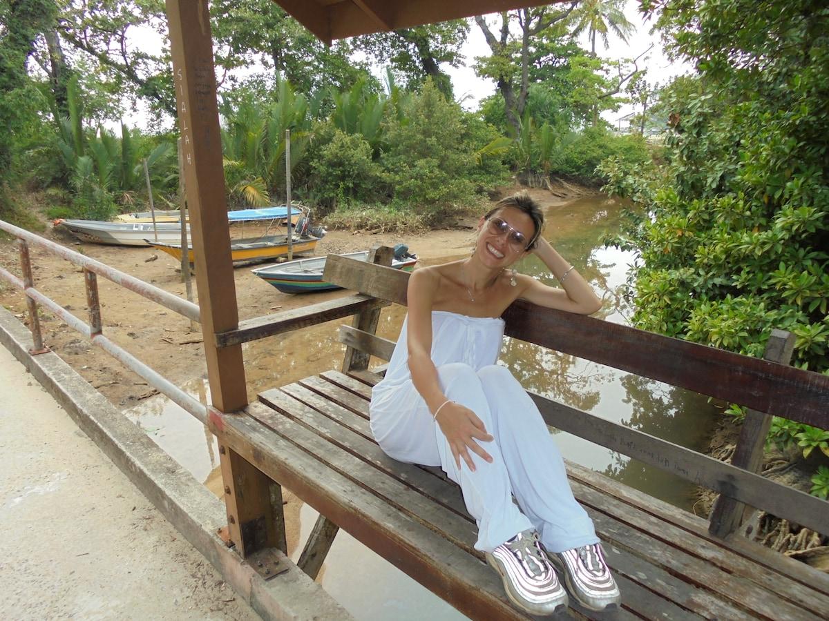 Ciao sono Sara residente a Pisa, 36 anni, laureata