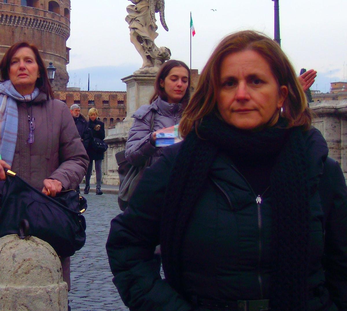 Vivo a Bari con mio marito e mia figlia di 14 anni