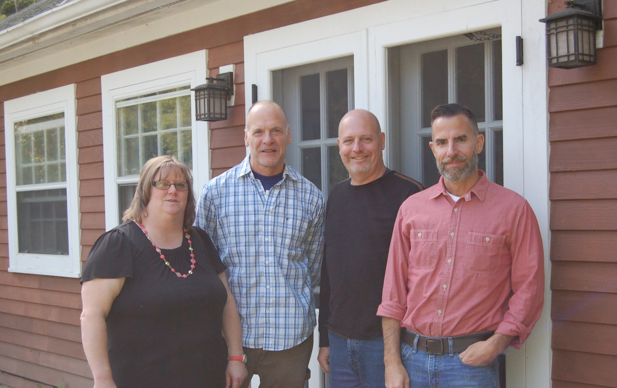 Steve, Tracy, Alan And Paul from Bethesda
