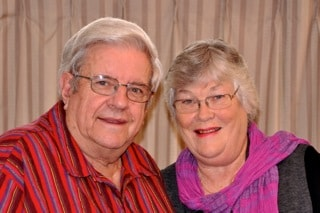 Laurence & Sharron from Christchurch