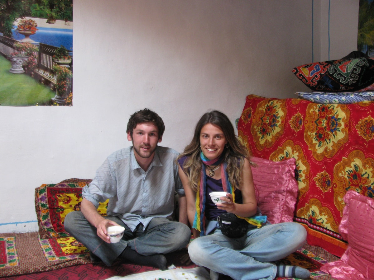 Laura&Tim from Budapest