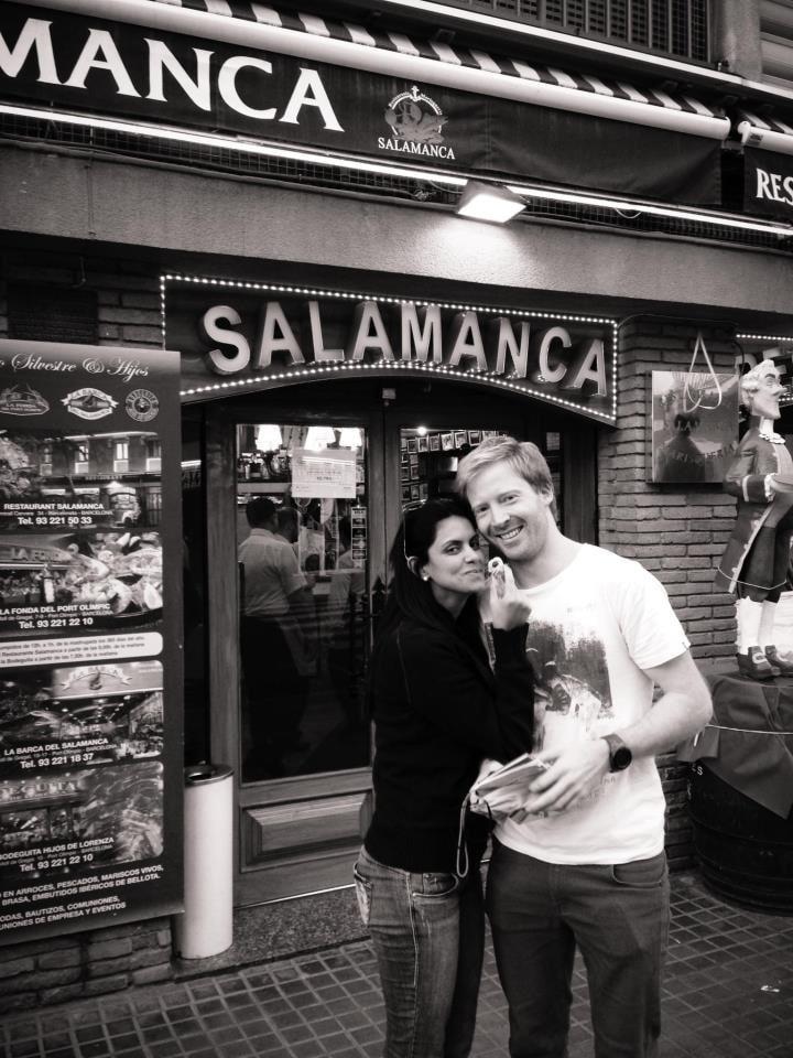 A Brazilian-Norwegian couple, living and working i