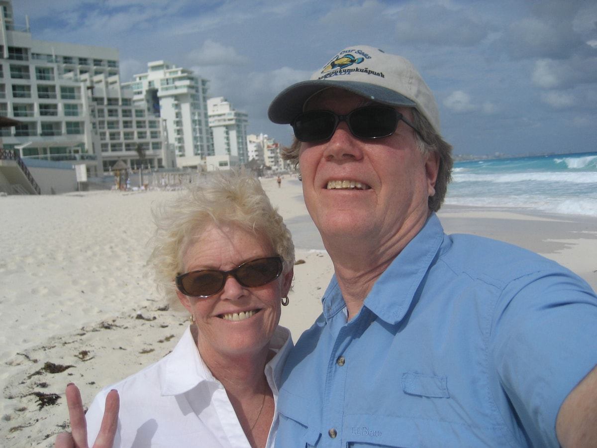 Rich and Wanda are a fun, loving couple who built