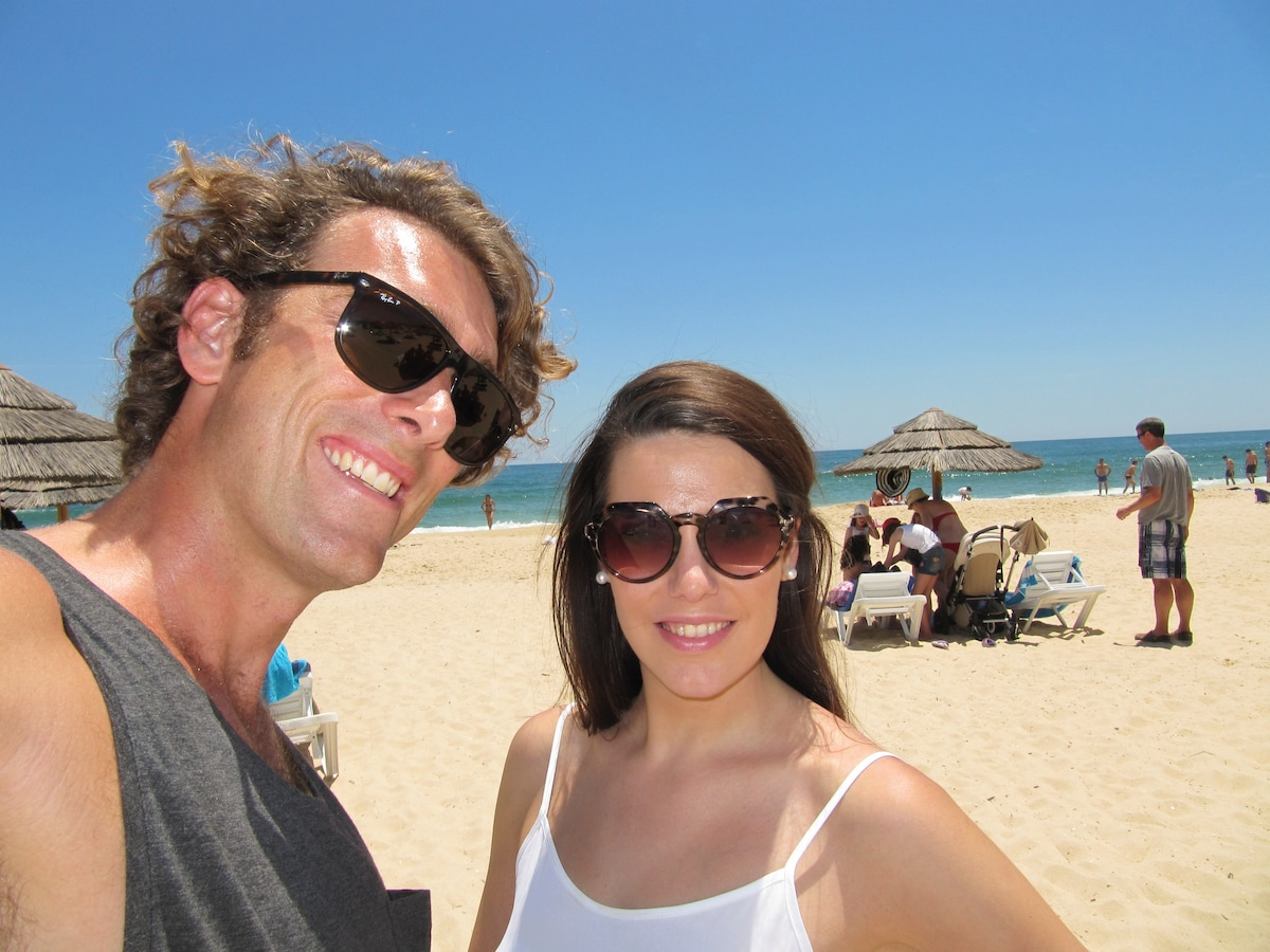 We are a couple from Melbourne who love to travel