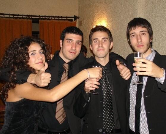 Ci chiamiamo Virginia, Emanuele, Daniele e Alessan