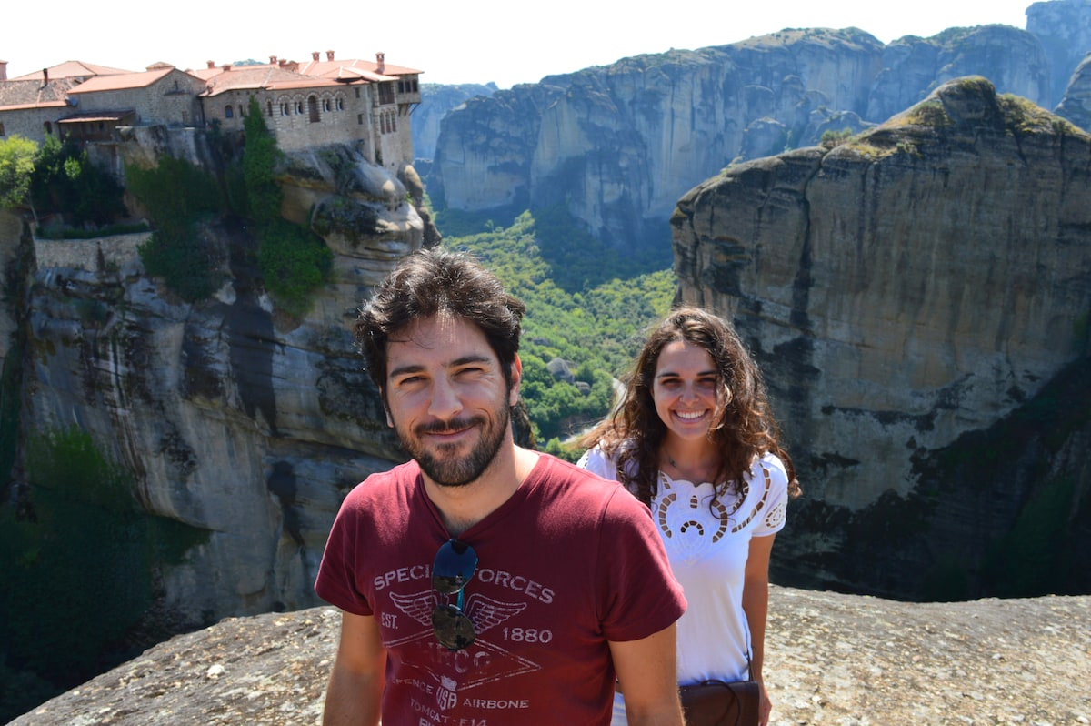 We are an easy going Greek-Brazilian couple in our