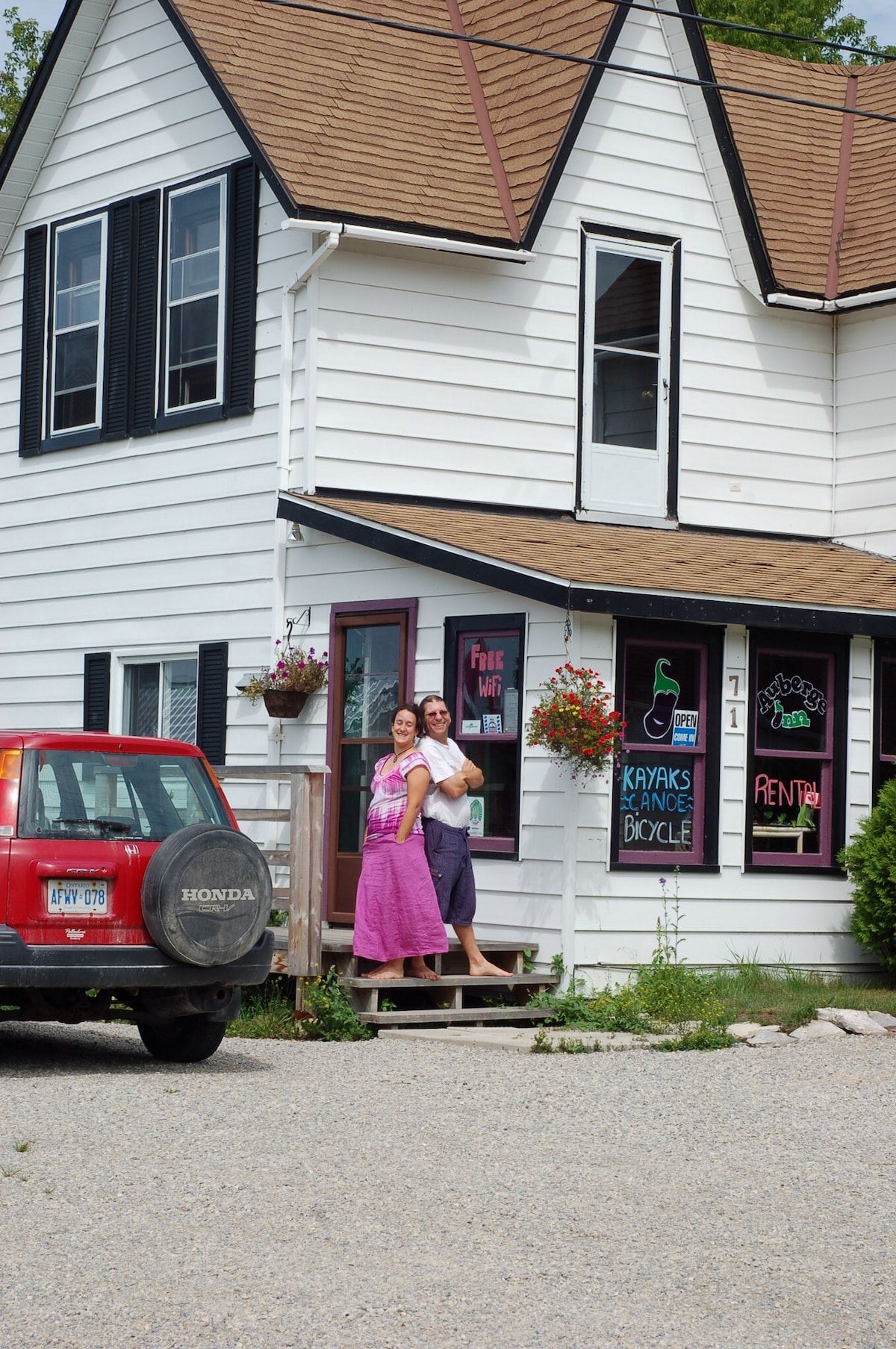 Auberge Inn from Providence Bay
