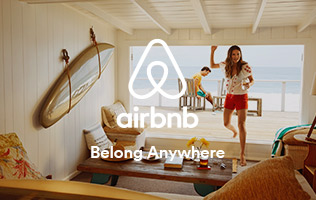 Get free credit when you sign-up at Air BnB
