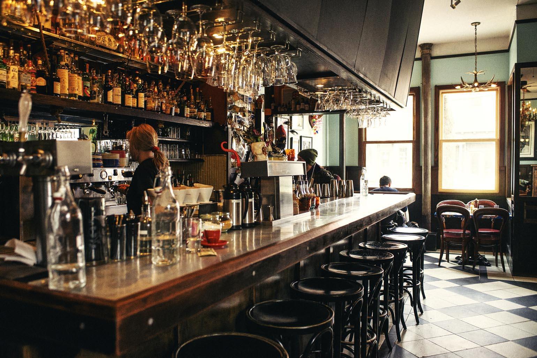 food scene in new york