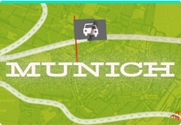 Locations au mois Munich