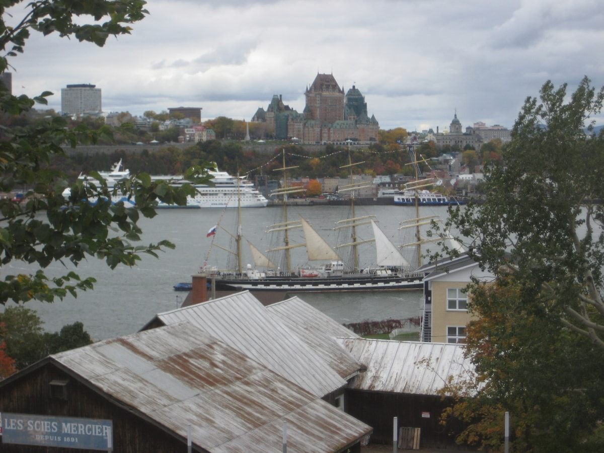 Breathtaking view on Québec City !