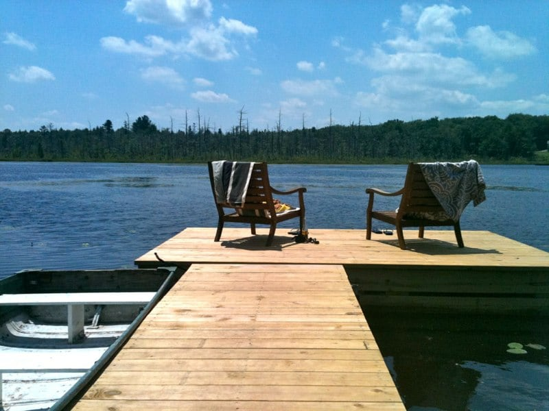 Enjoy a relaxing boat excursion or go for a swim.
