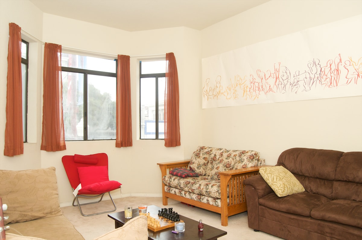 1BR in heart of Mission District