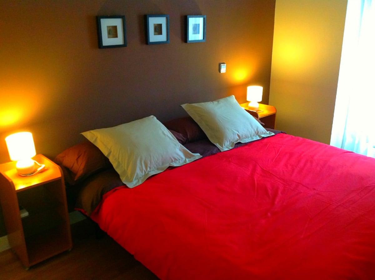 Cómoda y amplia cama