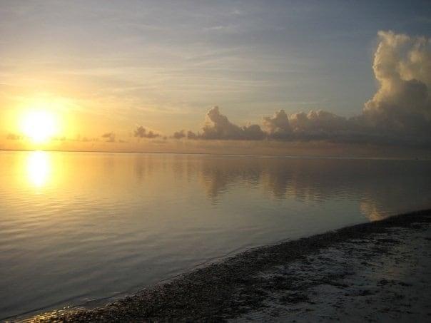 Dawn at Matemwe