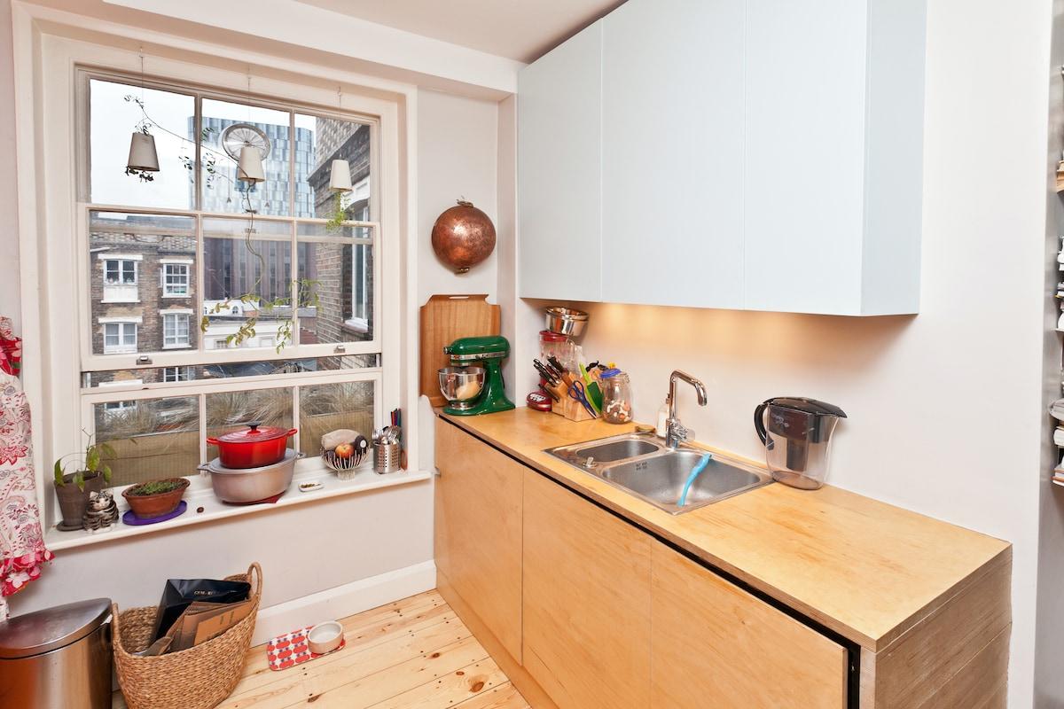 I love my kitchen. Full of secret compartments.
