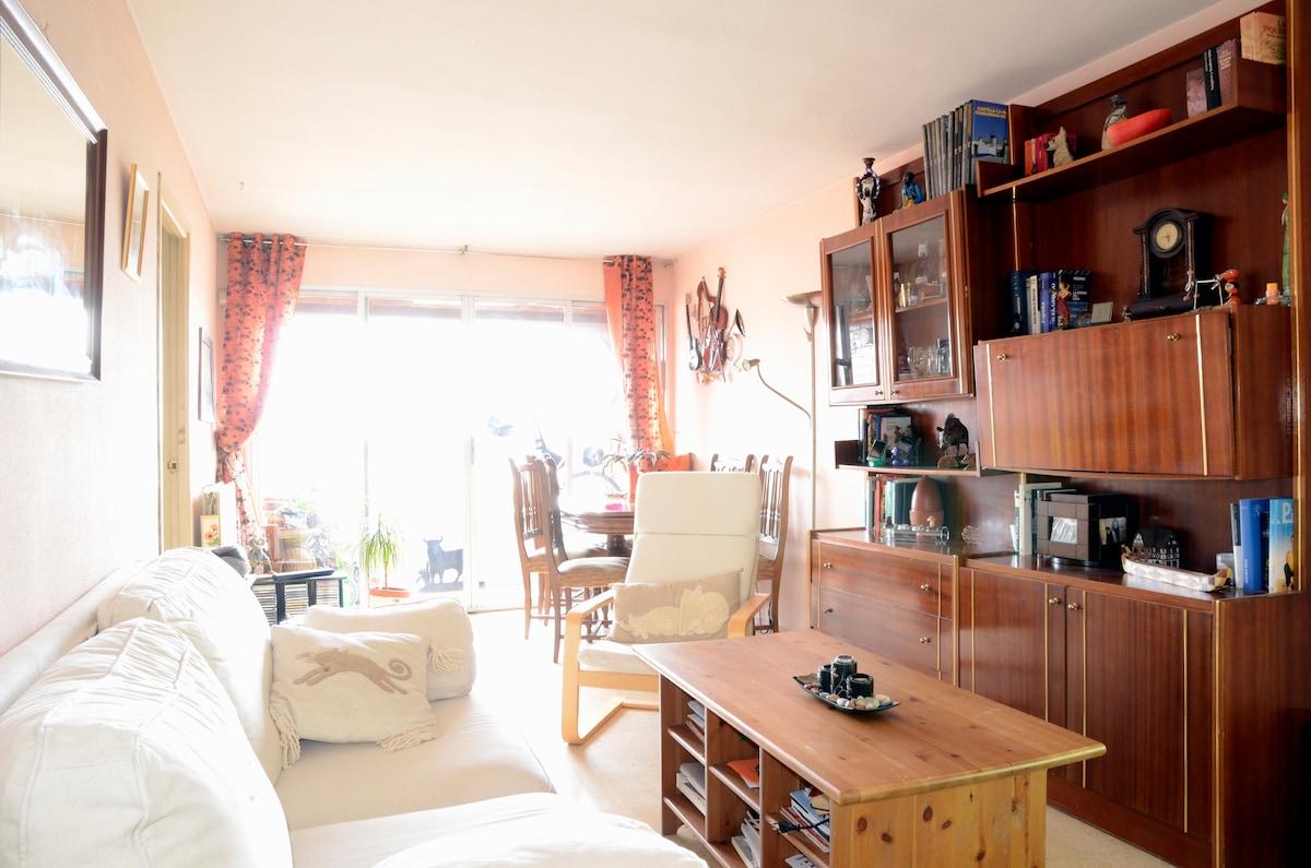 Habitación privada en piso comparti