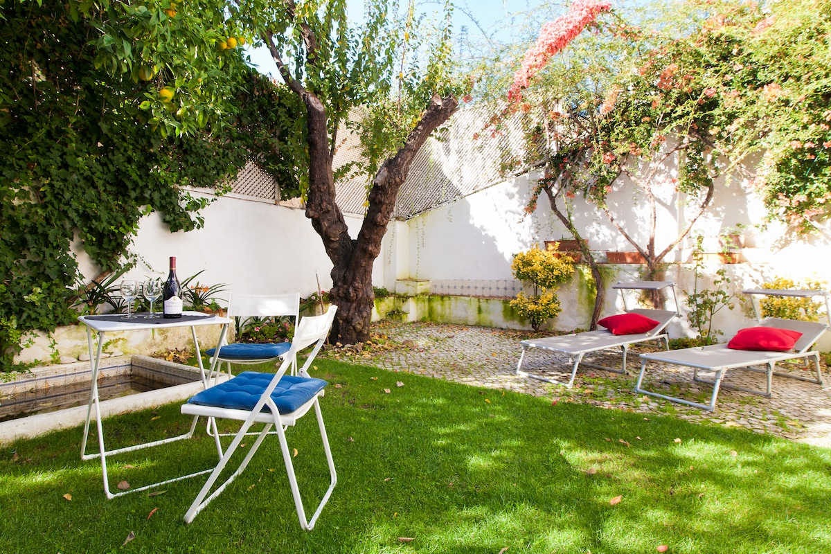 Private Garden Terrace - Alfama Lux