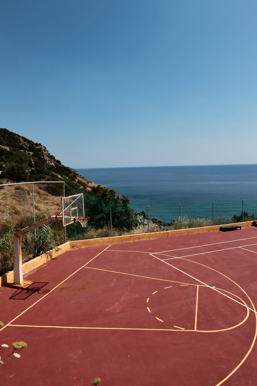 greece basketball court