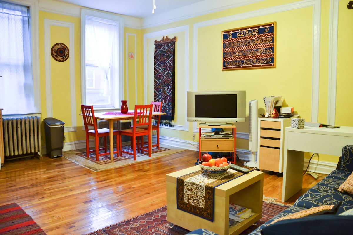 Warm, Spacious 1-BR in Ft. Greene