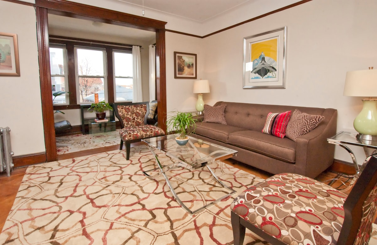 20 Min to Times Square- Sunny 2 BR