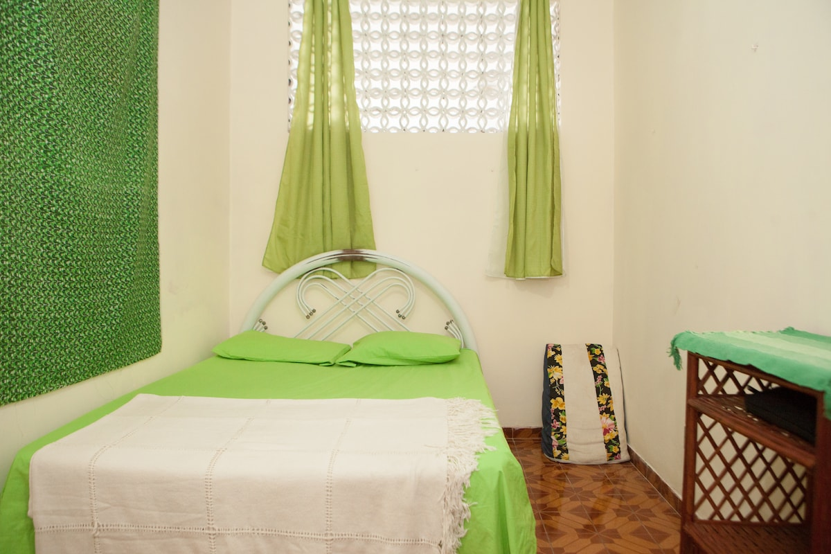 We provide cotton sheets and towels