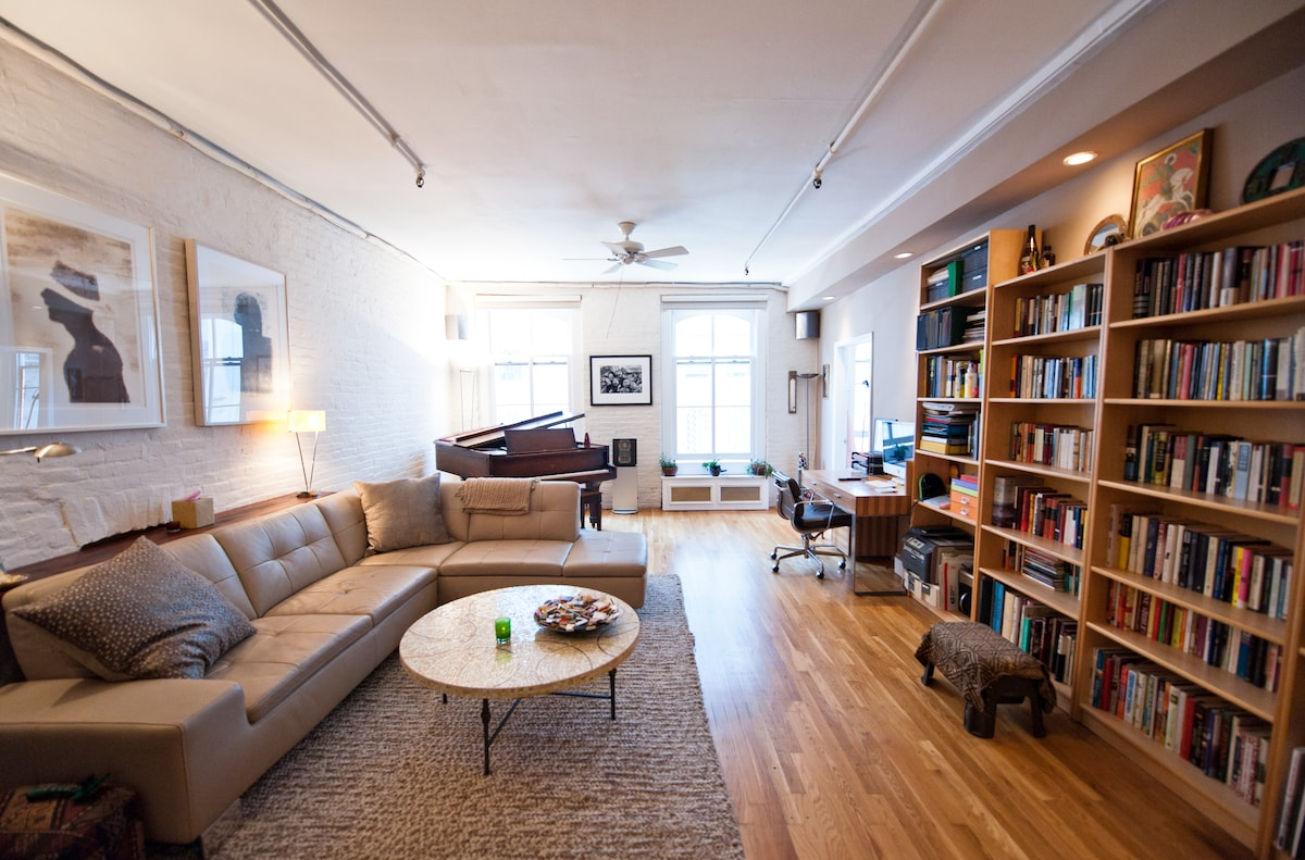 stylish Gramercy loft apartment