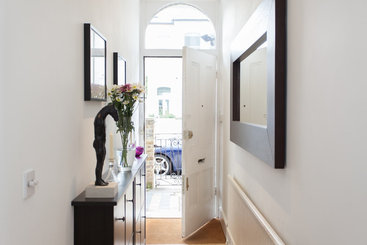 Another view of the Entrance Hallway