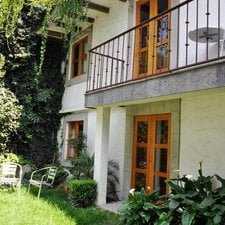 The Garden Annex - housing the 'habitaciones: bugambilia, dalia, jacaranda, alcatraz'