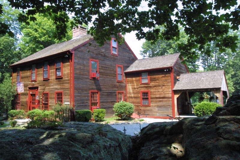 Colonial Stonington Home, 300 Years