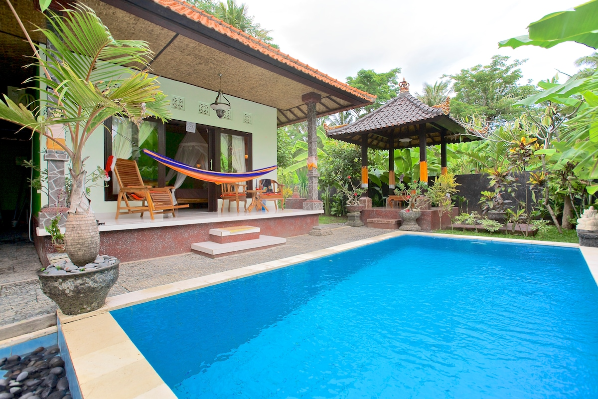 "Welcome to Bali Mimba Villa, ""The White House"", 1 of 2 units."
