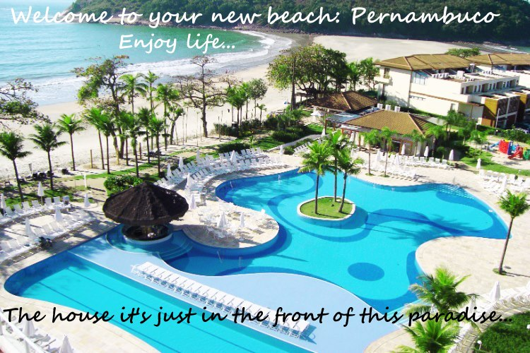 This is your next beach, take your time and relax with charm, style & confort @ sea side