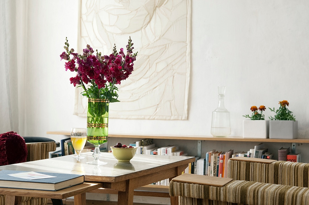 LIVING ROOM - here are art works in every room. (photo: Terje Ugandi)