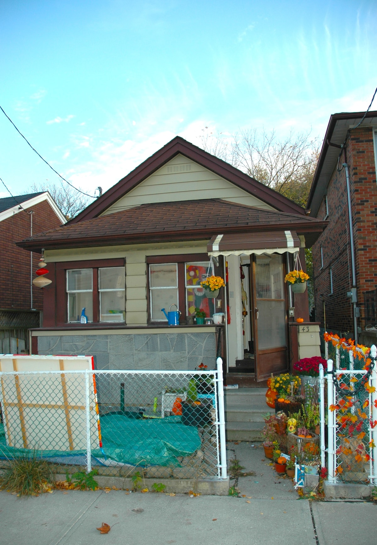 my little house In Toronto !!