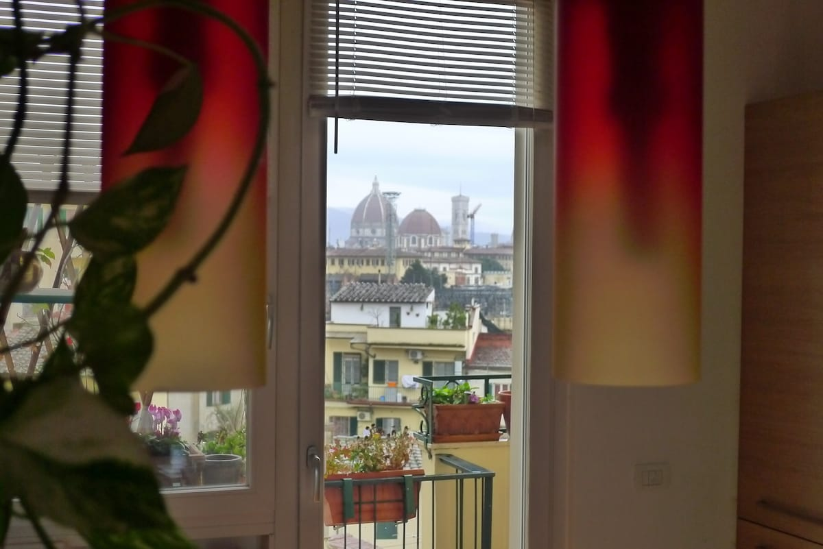 Picturesque Double room in Florence