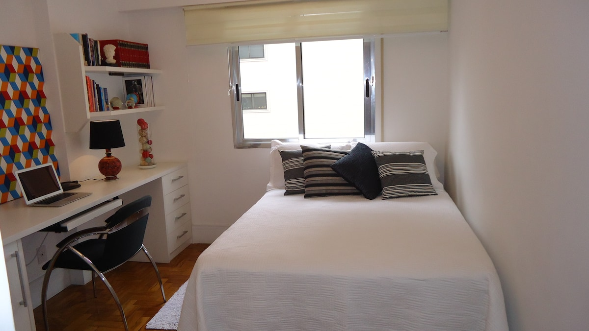 This is your Bedroom: ( DOUBLE BED)